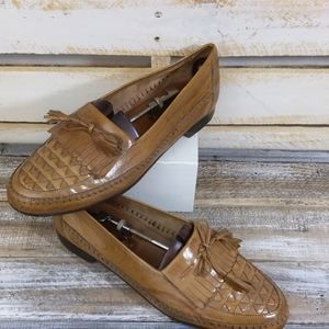 Johnston & Murphy Leather loafers size 11.5